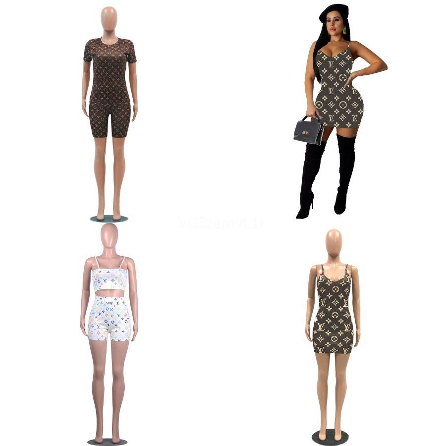 202020 Allenamento Tuta per le donne un 1PCS Vestiti di sport sexy maglia di stampa a maniche lunghe della tuta della tuta Palestra Danza tuta # 830