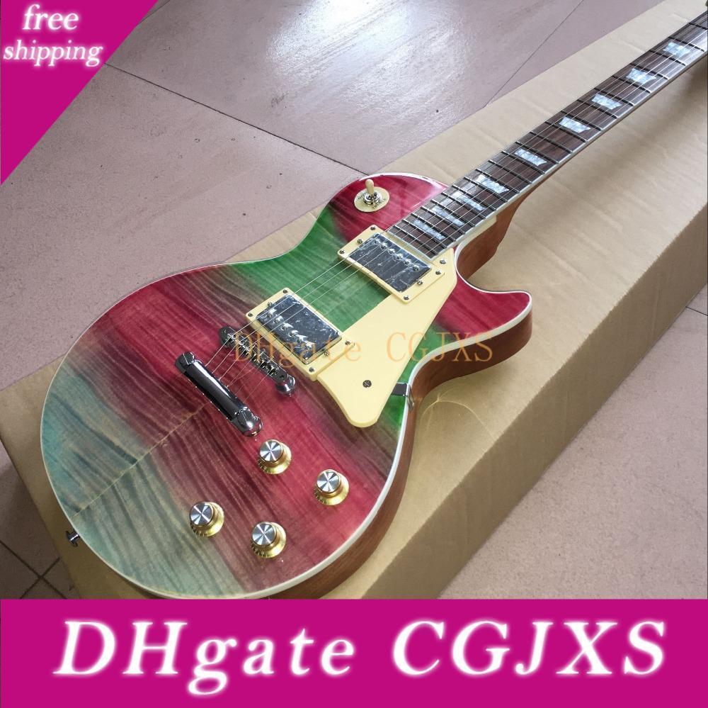 Clásico con dibujos guitarra eléctrica de encargo Con servicio de personalización personalizada