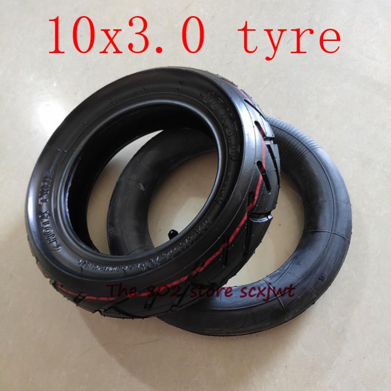 عجلات دراجة نارية الإطارات 10x3.0tube Tyre10 * 3.0inenr و الاطارات الخارجية ل Kugoo M4 برو الكهربائية سكوتر عجلة الذهاب كارتس atv رباعية السرعة الإطارات