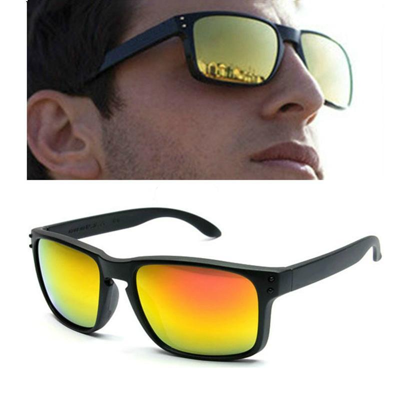 O marca 9102 Óculos Homem quadrados mulheres esportes ao ar livre óculos de sol estilo clássico óculos UV400