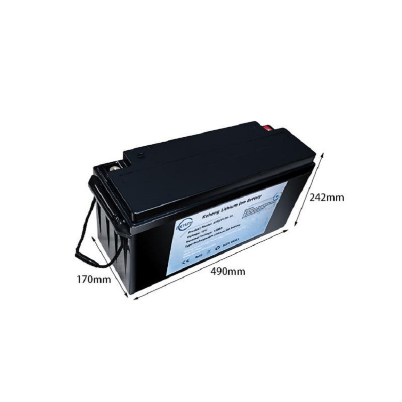 Şarj Edilebilir Lityum Demir Fosfat Piller Paketleri 12 V 100AH 120AH 150AH 200AH LIFEPO4 Pil Paketi