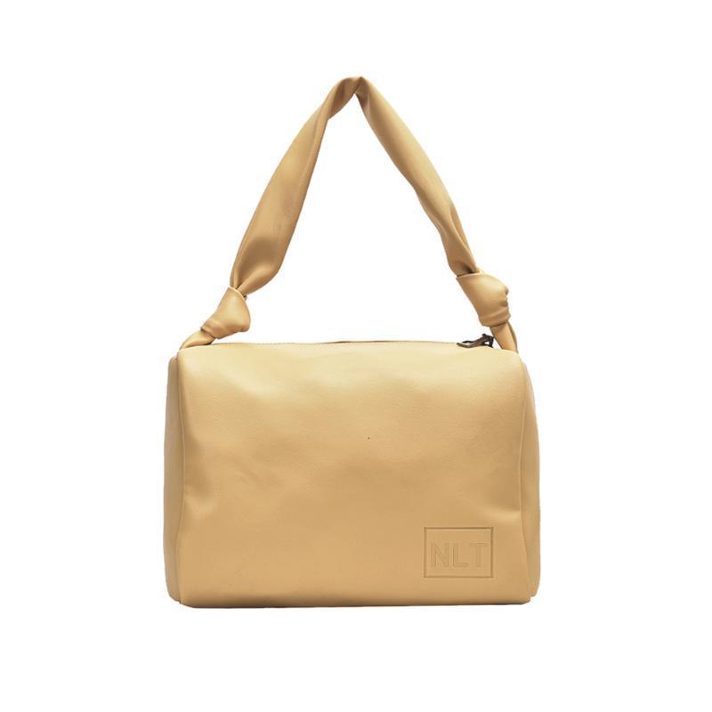 Mode weiche PU-Frauen-Handtaschen-große Kapazitäts-Tie Knot-Schulter-Platz-Tasche 2020 neue Schultertasche für Womwn