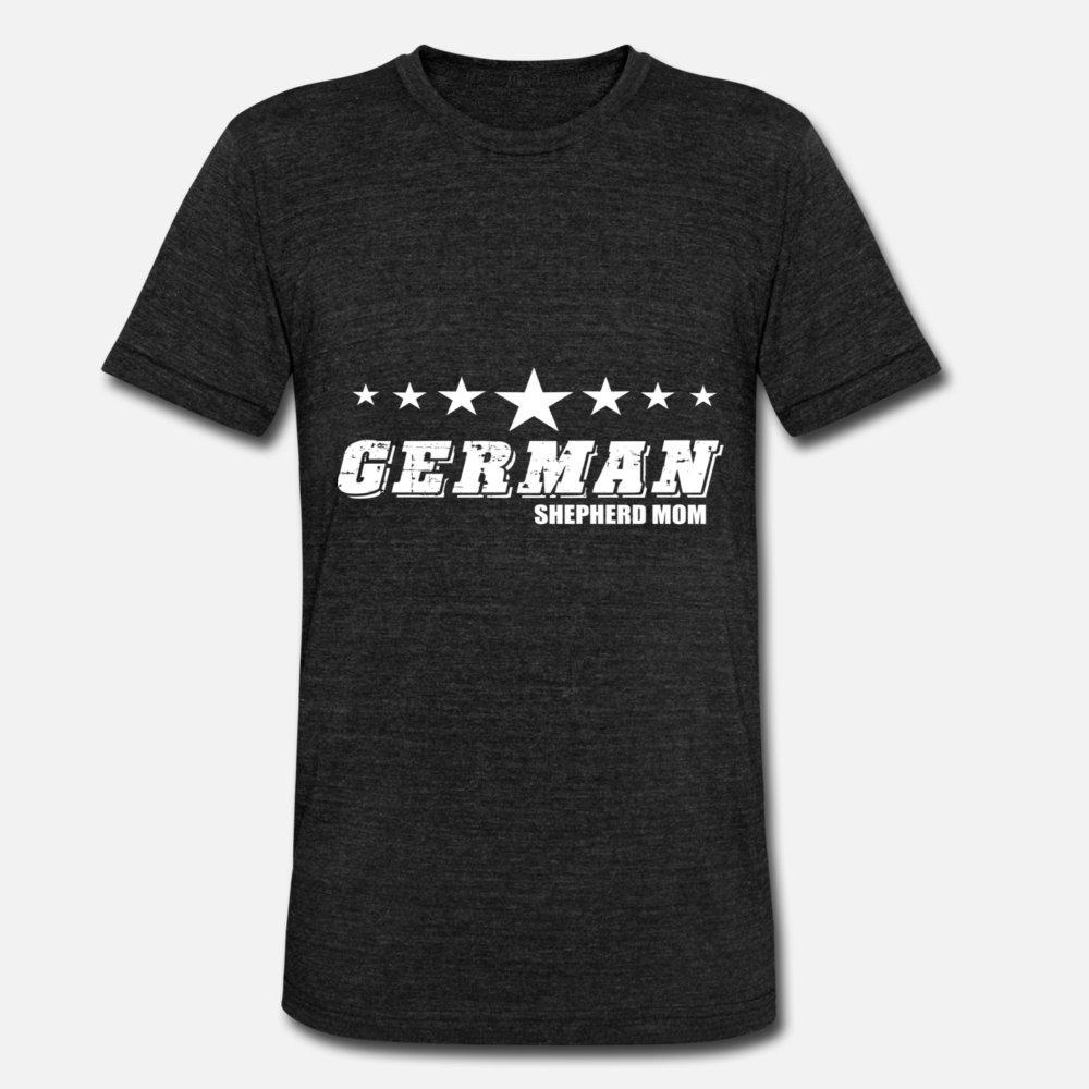Deutsch Shepherd Mom T-Shirt Männer-Charakter aus 100% Baumwolle S-XXXL kühle losen Comical Frühling Standard-Shirt
