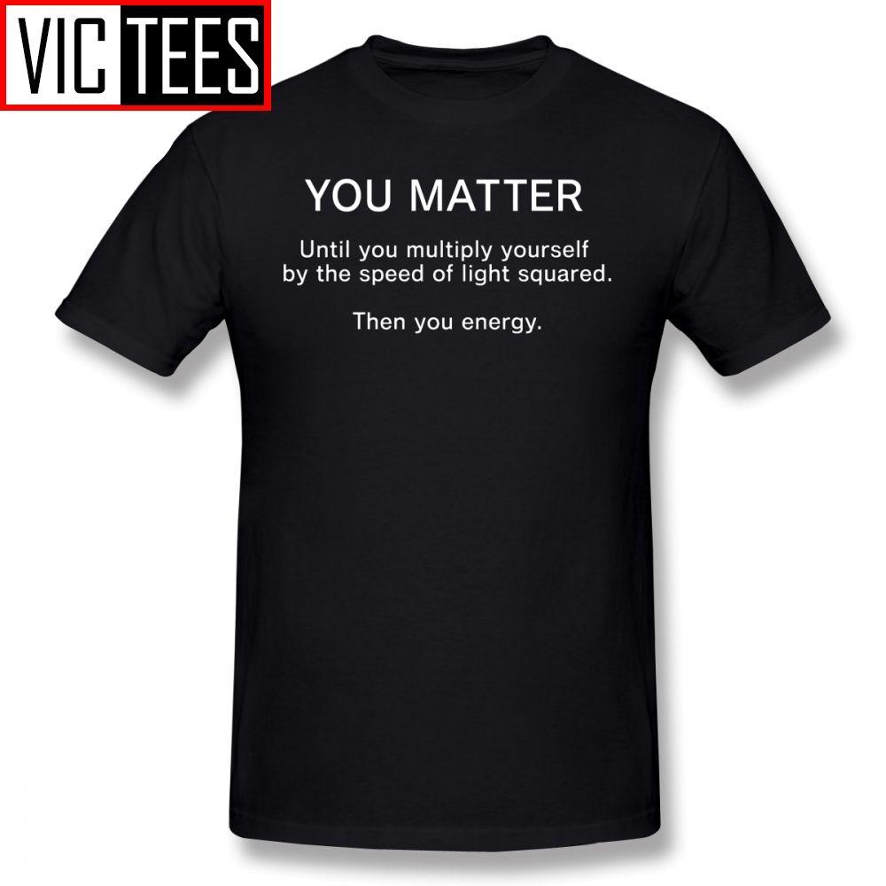 Mens Einstein T Shirts Mala Ciencia Broma camiseta hombre camiseta linda de algodón de la manera gráfica de gran tamaño camiseta