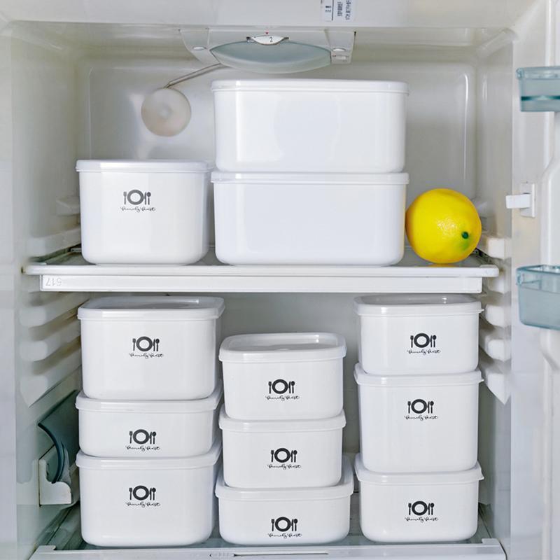 Белый Микроволновая печь Bento Lunch Box пикника Фрукты Контейнер для хранения Box Для детей Для взрослых Ящики для хранения Кухня Организация