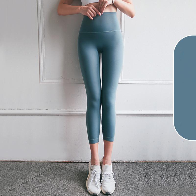 Klassische Version Soft-Naked-Feel Workout Gym Yoga Strumpfhosen Frauen Squatproof hohe Taillen-Fitness Sport Leggings S-XL