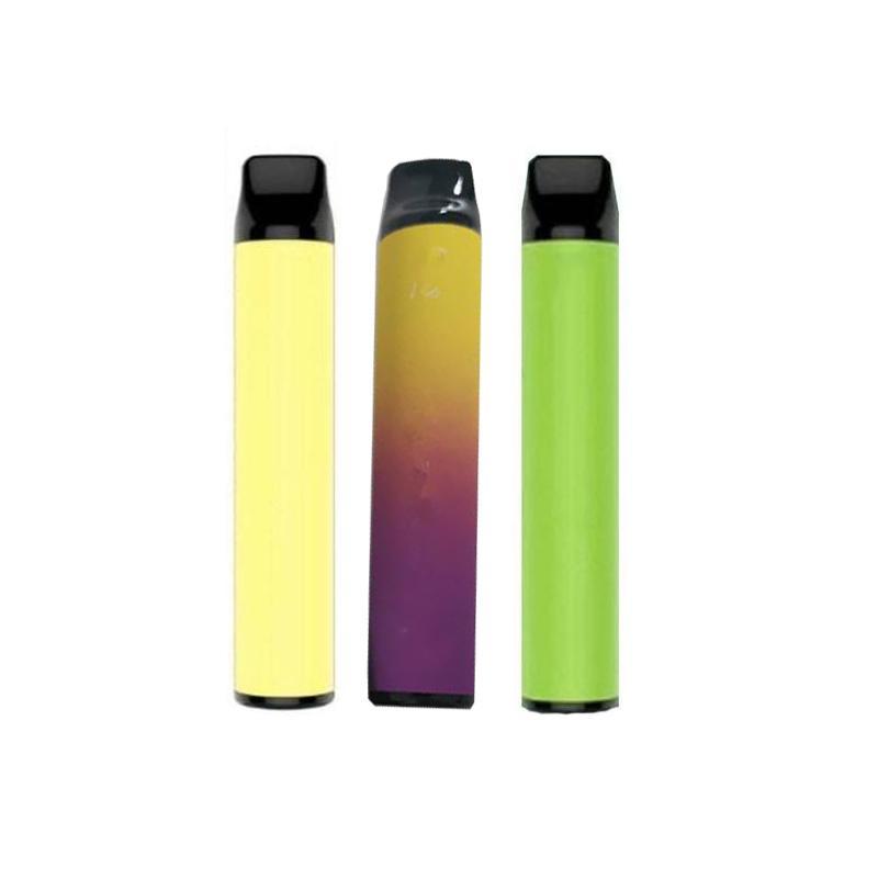 СЛОЙКА BAR Одноразовые устройства XXL СЛОЙКА 1600 пуфы 10 цветов Vape Pen устройства Портативный Puff Bar Plus Vape Испаритель Pen