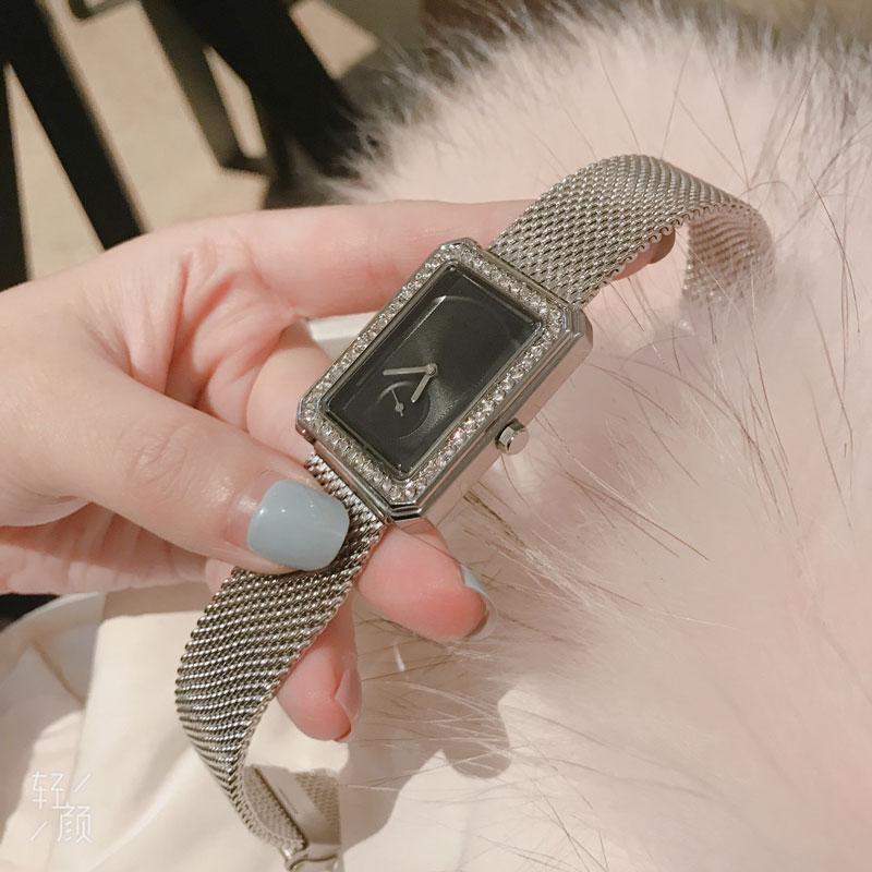 2020 подарок простой золотой алмазный циферблат женские знаменитые цена заводские оптовые часы с низкой часами для продажи мода квадрат леди наручные часы RPMA