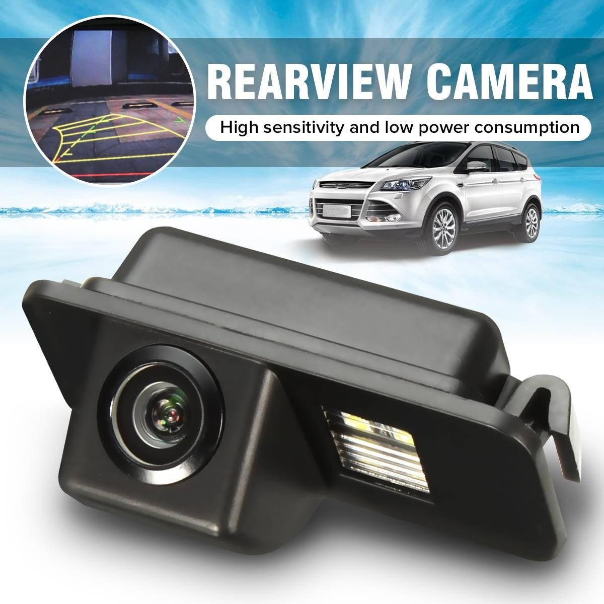 اللاسلكية CCD HD سيارة كاميرا للرؤية الخلفية عكس وقوف السيارات للرؤية الليلية للماء لفورد مونديو التركيز BA7 C307 S-ماكس العيد كوجا