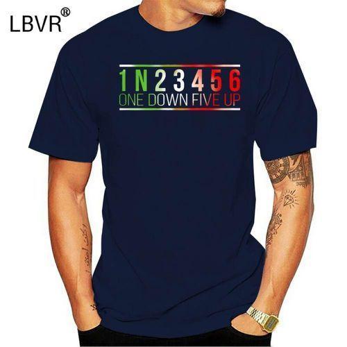 Camiseta 1n23456 um para baixo cinco até 2020 grandes homens tamanho da personalidade T-shirt de algodão de manga curta personalizado