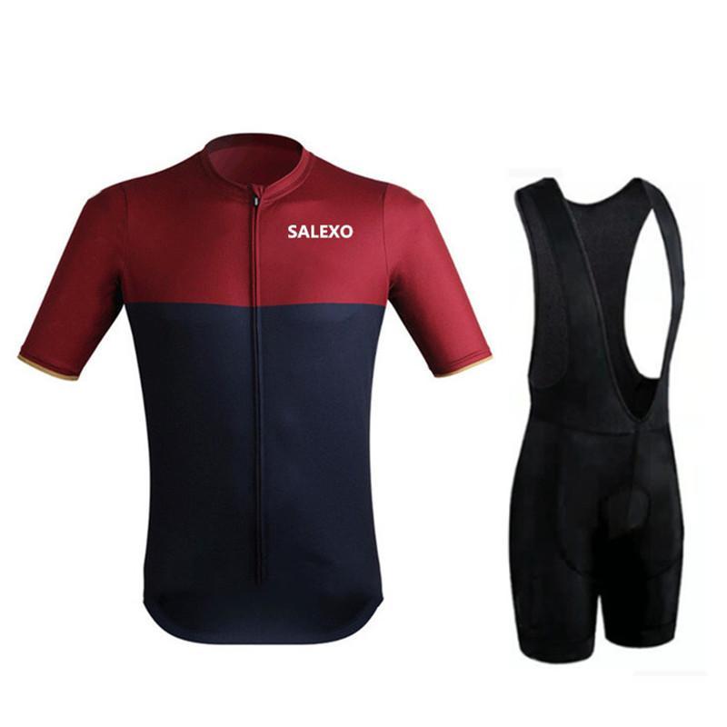 2020 Triatlón Pro Team ciclismo conjunto de MTB juegos de la ropa del babero desgaste fijan los hombres de la bici MTB Ropa Ropa ciclismo