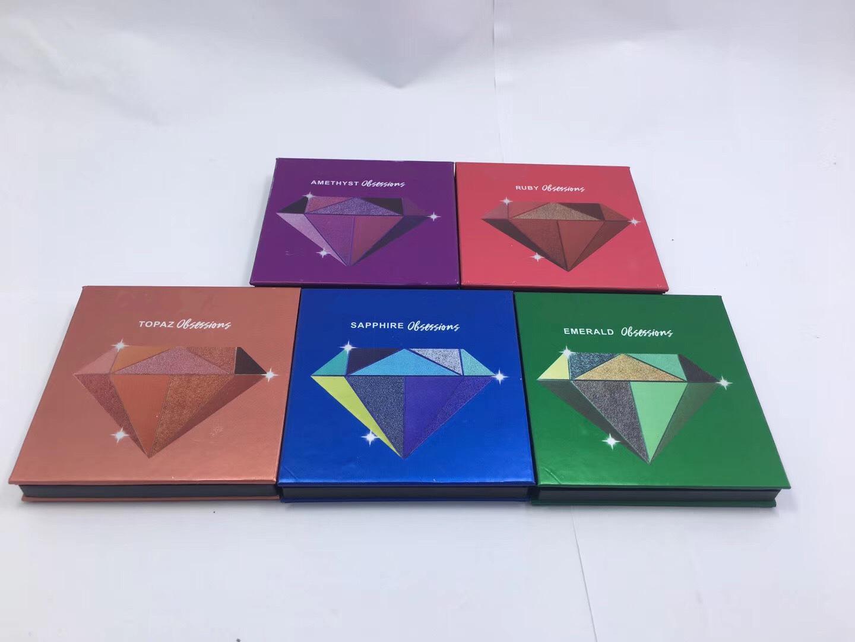 Erdfarbe Feines Pulver Ins Stil Super hot Neun Farben metallisch glänzende Farbe Versatile Perle Licht Anfänger Lidschatten Make-up-Set