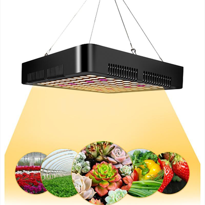 Led Grow Light 600W Full Spectrum Led Grow Tent Covered Green houses Lamp Plant Grow Lamp for Veg Flowering Aluminium DHL