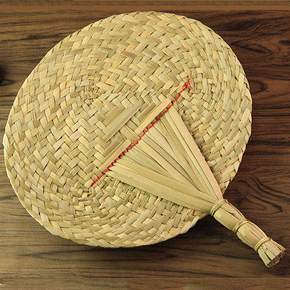 Handmade Fan girassol requintado natural Ferramentas Home Decor vintage legal Fan