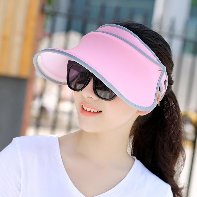 IH80u often printed face-covering fashionable sun , often in summer outdoor travel sun hat all-match whitening hat summer