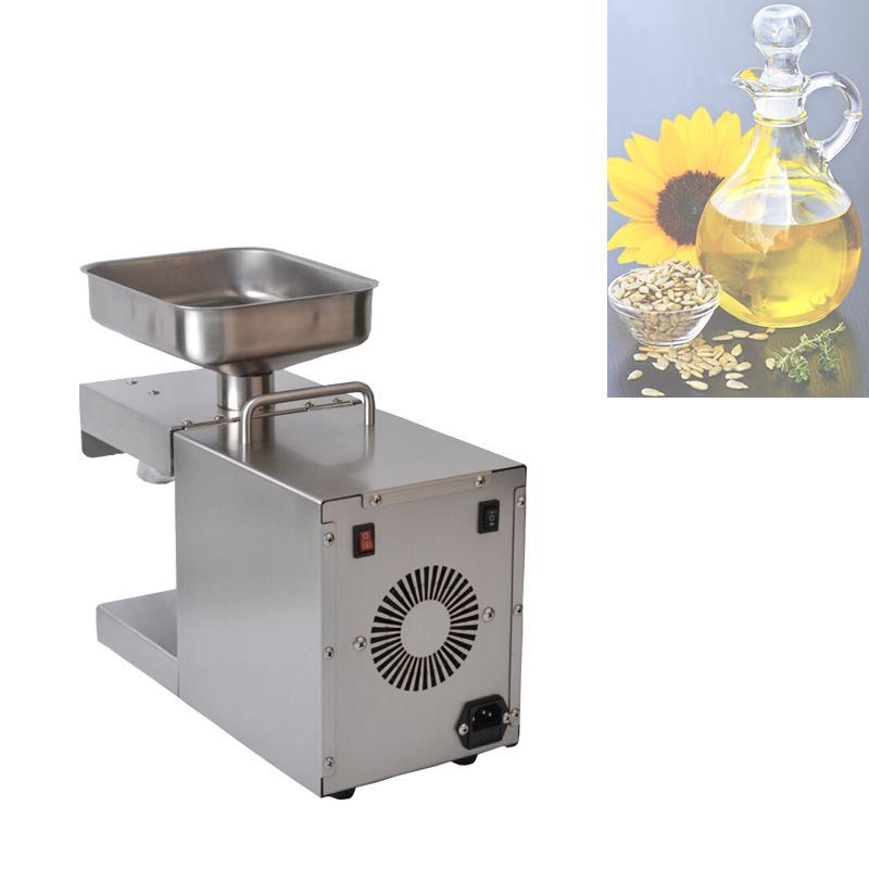 2020 automatique d'huile froide Machine de presse de haute extraction Taux d'huile de noix de coco extracteur d'huile d'olive Machine de presse