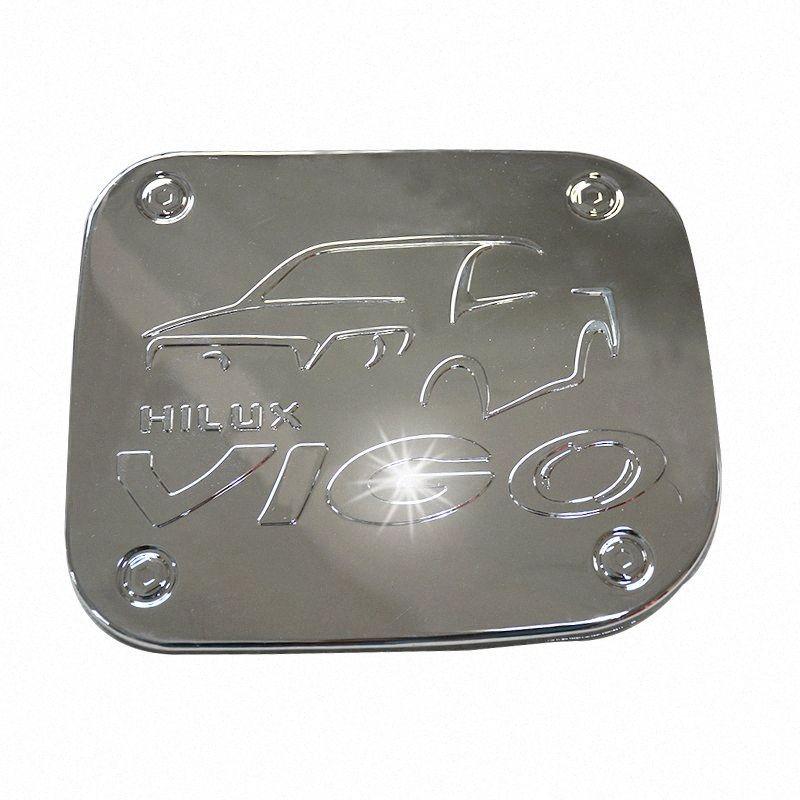 CITYCAR car styling CHORMED COPRI SERBATOIO FIT FOR TOYTA HILUX VIGO 2012-2014 AUT ACCESSORI GASOLIO SERBATOIO copre in TRASPORTO LIBERO JUkw #