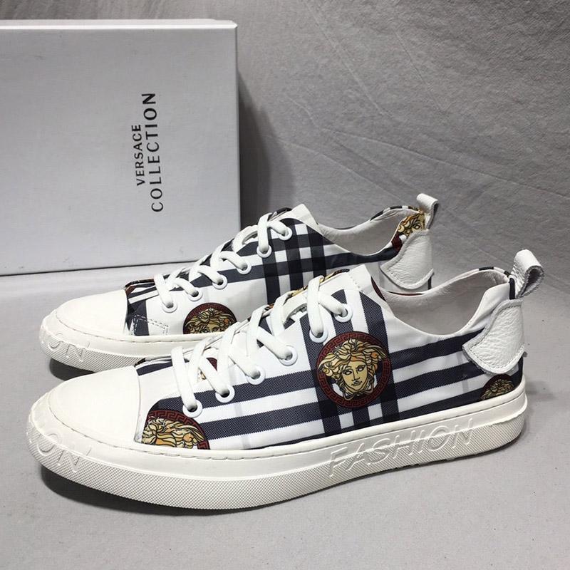 2020 G7 Modetrend Designer Herren-Schuhe atmungsaktiv bequeme flache Outdoor-Schuhe schnüren beiläufige Wanderer Schuhe Mensturnschuhe up