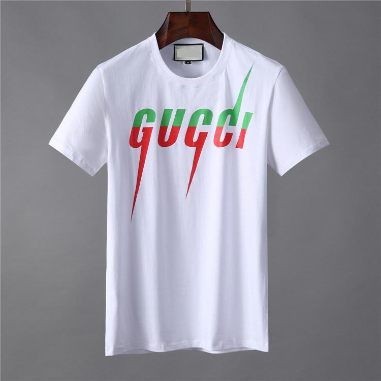 2020 Yeni Tasarımcı Marka Erkek T Gömlek Pamuk Tees Erkek Kısa Kollu Erkek Slim Fit T Gömlek Moda Günlük Medusa Erkekler Tişörtlü Tops