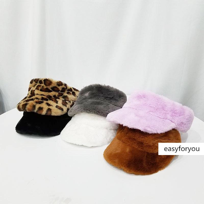 Şapka Kadın ins leopar baskı boş top rahat üst içermeyen beyzbol sıcak kap moda hepsi maç sonbahar ve kış doruğa peluş