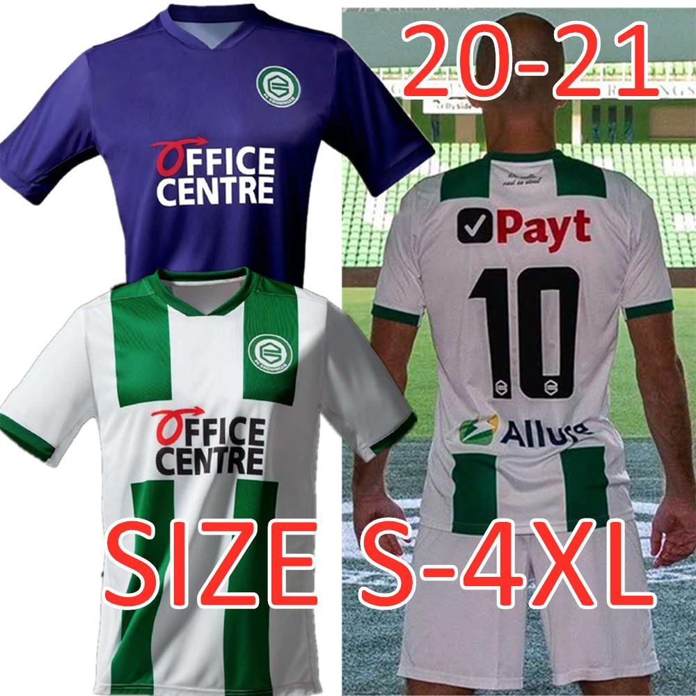 2020 S 4xl Robben Fc Groningen Soccer Jerseys Home Away 2020 2021 Groningen Deyovaisio Zeefuik Daishawn Redan Football Shirts Men Plus Size From Gogosports 12 49 Dhgate Com