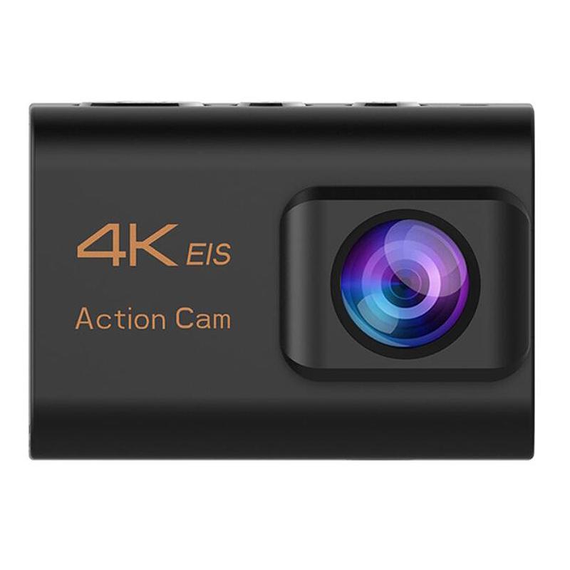 EIS 3 축 스마트 카메라 와이파이 LCD 스포츠 방수 2 인치 원격 제어 공중 카메라 4K 액션 20MP