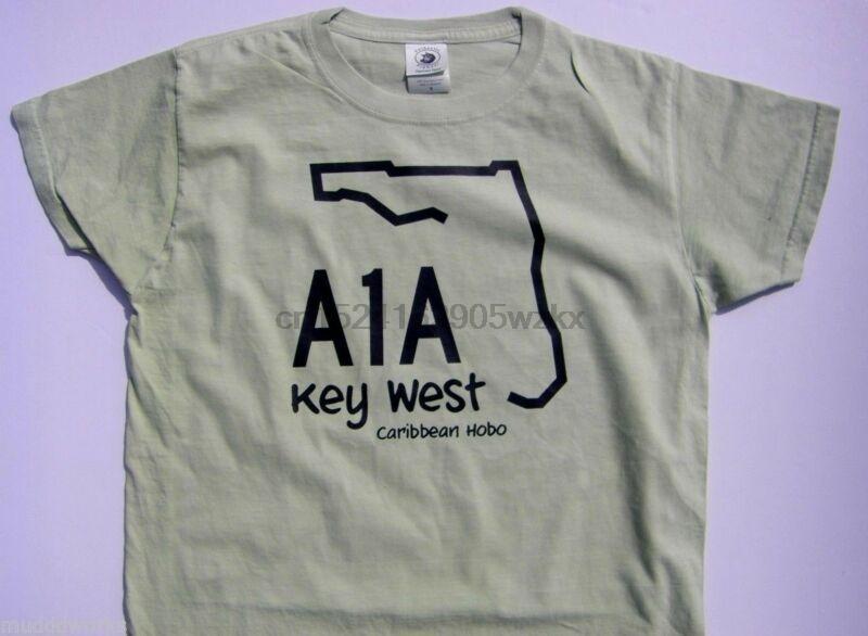 NUEVO W Caribe Hobo camiseta A1A Key West costera islas playa
