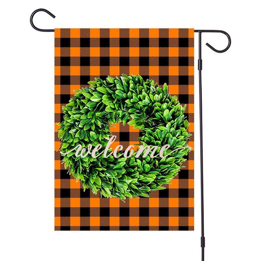Willkommen Flagflag Außen Home Paraden Party Garten Flagge 32 * 47cm # 442 Supplies