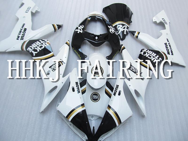 Moto in plastica ABS carene Fit Kit Per Yamaha YZF R1 2004 2005 2006 Injection Molding motore Moto Hull carenatura HC691