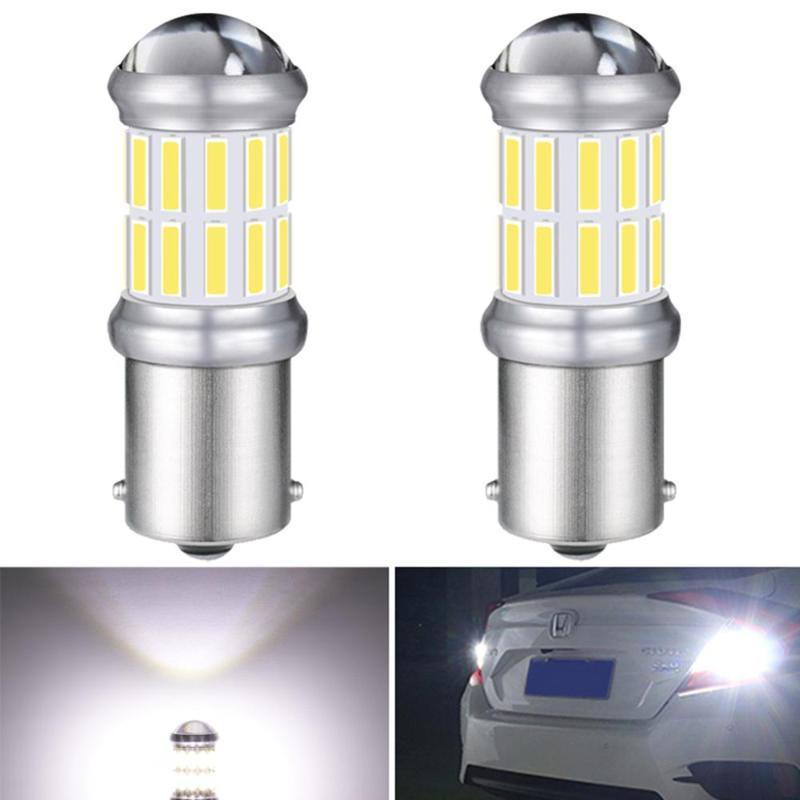 2x LED 1156 BA15S P21W Turn Brake Light Warm White LED Bulb 6000K Auto For Sprinter W203 W204 W205 W212 W211 W210