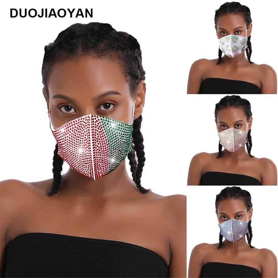 Máscaras Máscara NOVO HOT Sparkly do cristal de rocha de cristal do partido da bola Masquerade Bling Preto Nightclub cara para mulheres e meninas