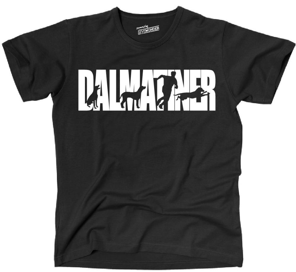 2019 nuovi uomini Tee Shirt Ths T-shirt Hunde Hund Dalmatiner Hundesport Agilità Ths Siviwonder Estate T-shirt