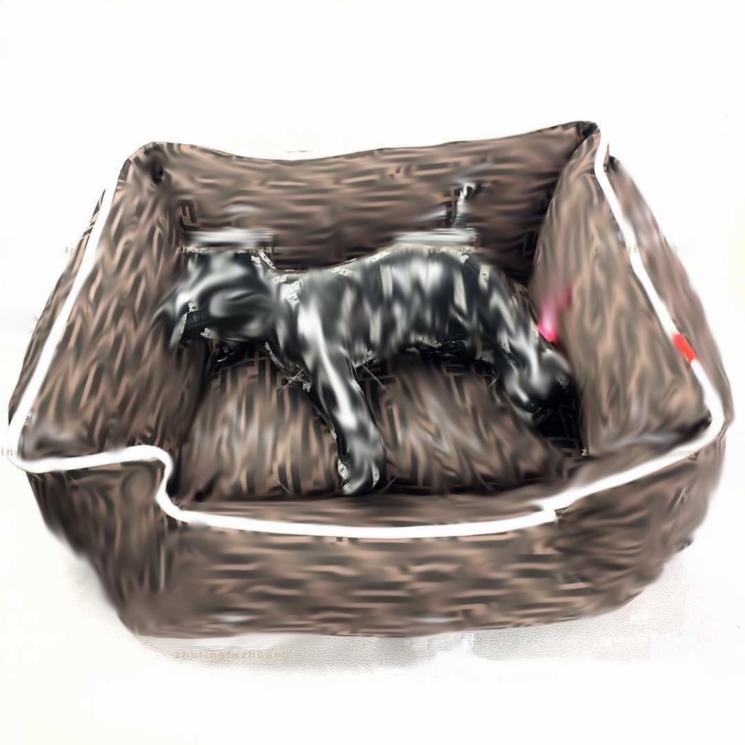 فاخر F رسالة القطة الكلب الكلب سرير الجرو كيتي أفطس تيدي بلدغ Bichons الأزياء داخلي يساعد على النوم الحيوانات الأليفة سرير تنفس لينة القط الأسرة