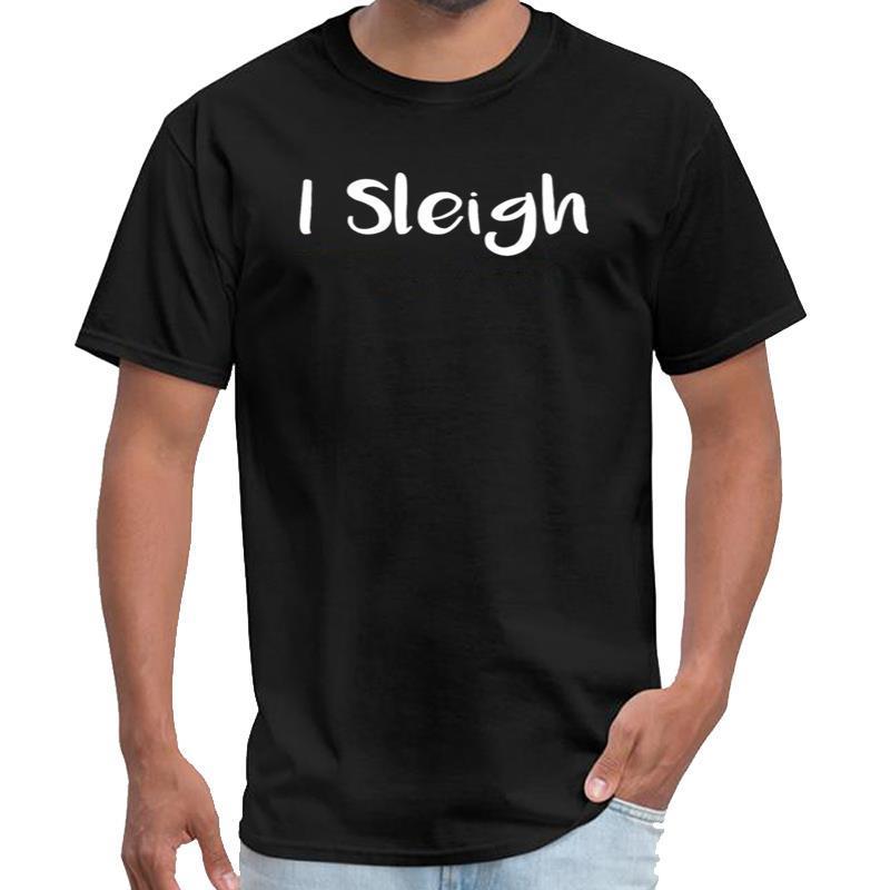 Aptidão do Natal Eu trenó de Santa Sleigh seu logotipo t shirt do miúdo selo equipe tshirt além de tamanhos S-5XL tee topo