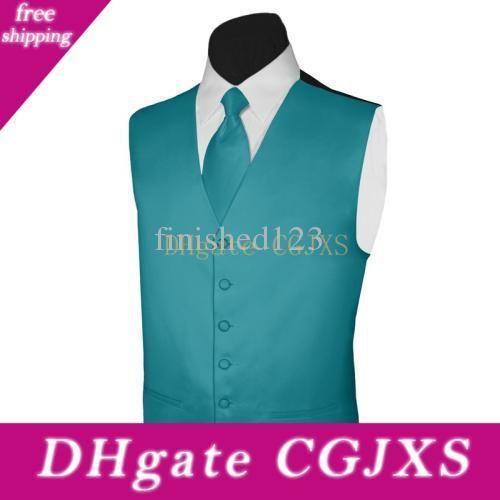 New Classic Mode Teal Gilets satin laine Chevrons style britannique Gilet homme Costumes de mariage pour les hommes Blazer P: 9