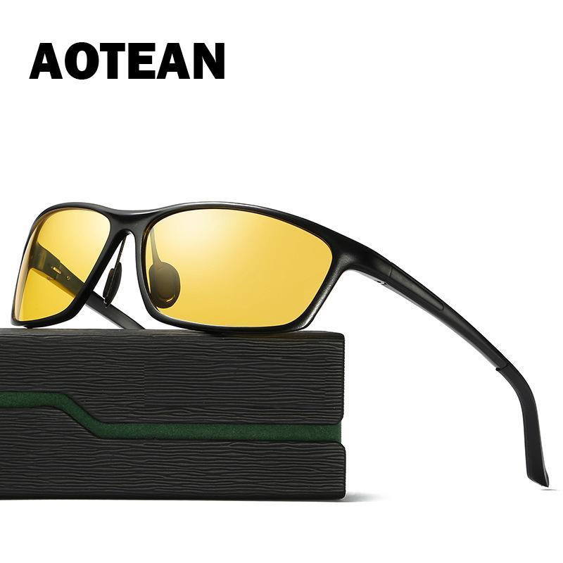 Polarizada condução nocturna óculos de sol Moda Night Vision de 2020 New Men Óculos de Protecção Anti-Brilho UV400 Masculino Eyewear 3179