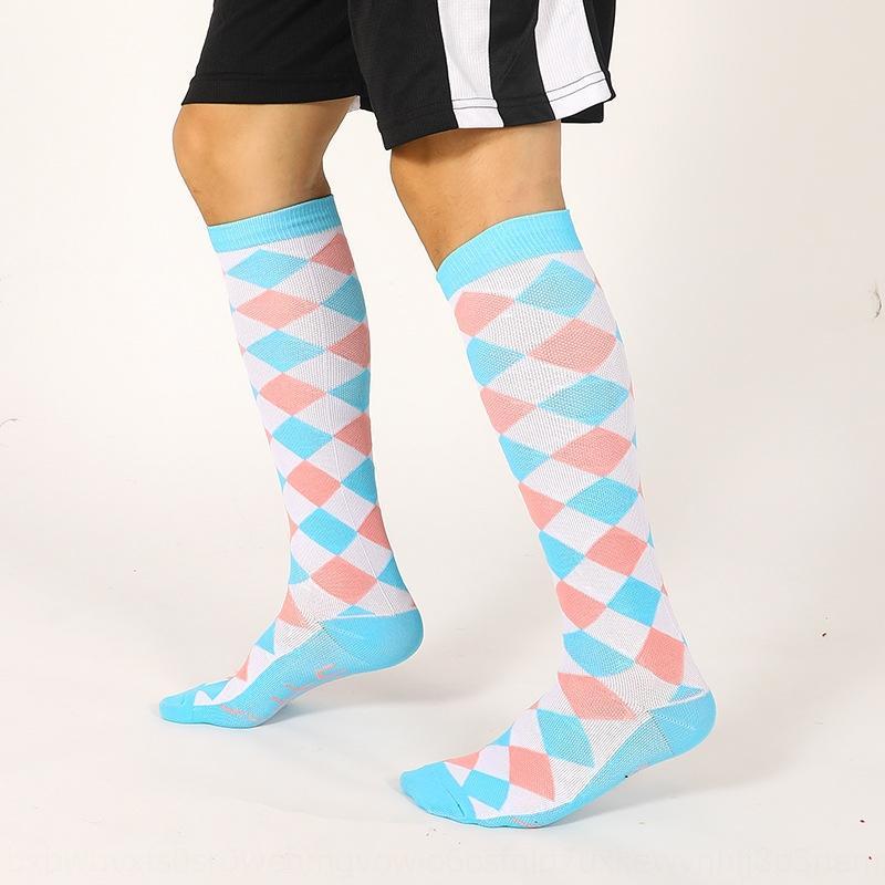 dSXdO confortevole primavera diamante nuove calze sportive uomo, sportiva, casual uomini over-ginocchio traspirante Diamond Calzini