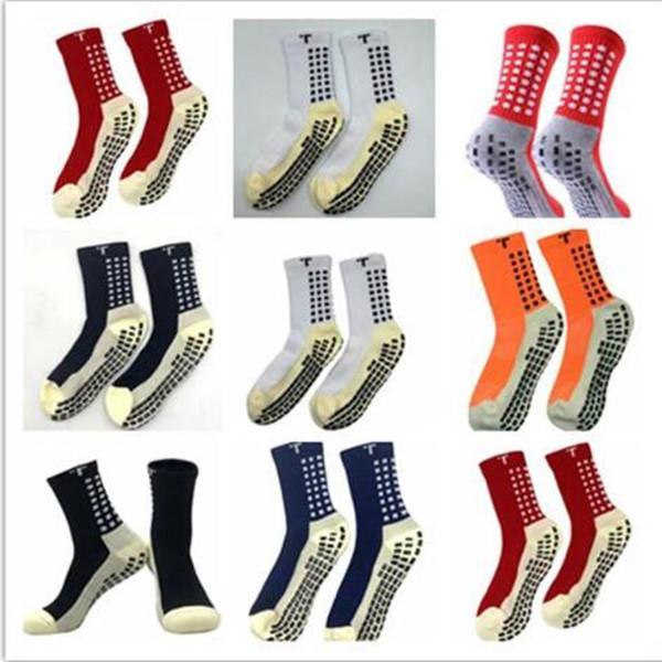 MIX Sipariş 2020 Satış Futbol Çorap Kaymaz Futbol Trusox Çorap Erkek Futbol Çorap Kaliteli Pamuk Calcetines Ile Trusox