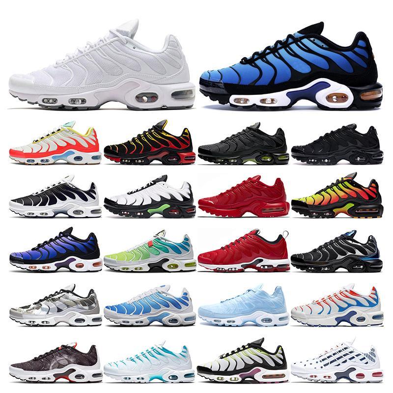 tn plus zapatillas para hombre Blanco negro Naranja Volt Color Flip HYPER CRIMSON zapatillas deportivas zapatillas tamaño 40-46