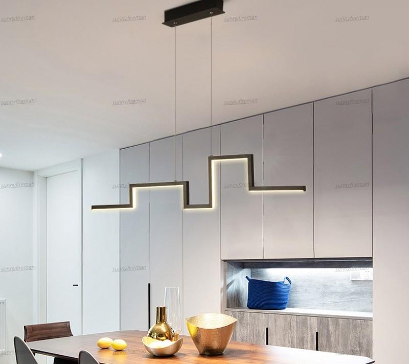 Modern LED pingente luzes de sala de jantar cozinhas AC 85-265V Luminária Luminária Luminária Colgante Home LED Lâmpada Lâmpada Pingente