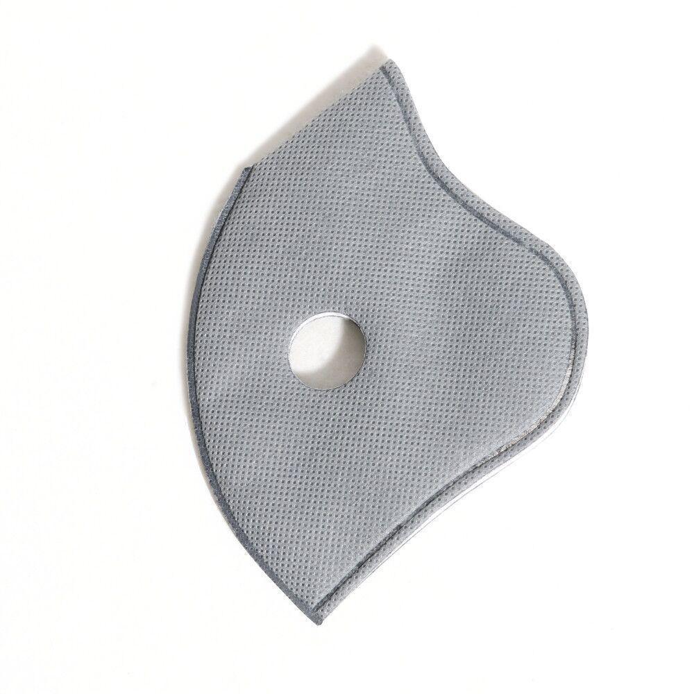esportes máscara com filtro PM2.5 REMPLACEMENT pano de filtro de Máscara Facial Insert 5 camadas de protecção anti-embaçamento Dust-proof Filtro respirável DHB34