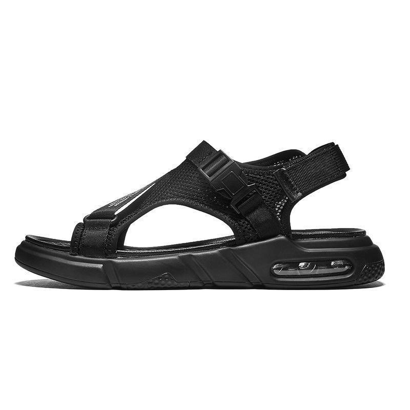 2020 de colchón de aire del nuevo verano de los hombres del plano sandalias del ocio de los zapatos ocasionales salvaje Estudiantes Beach antideslizante de la suela de goma exterior del tamaño grande de 38 a 48.651 #