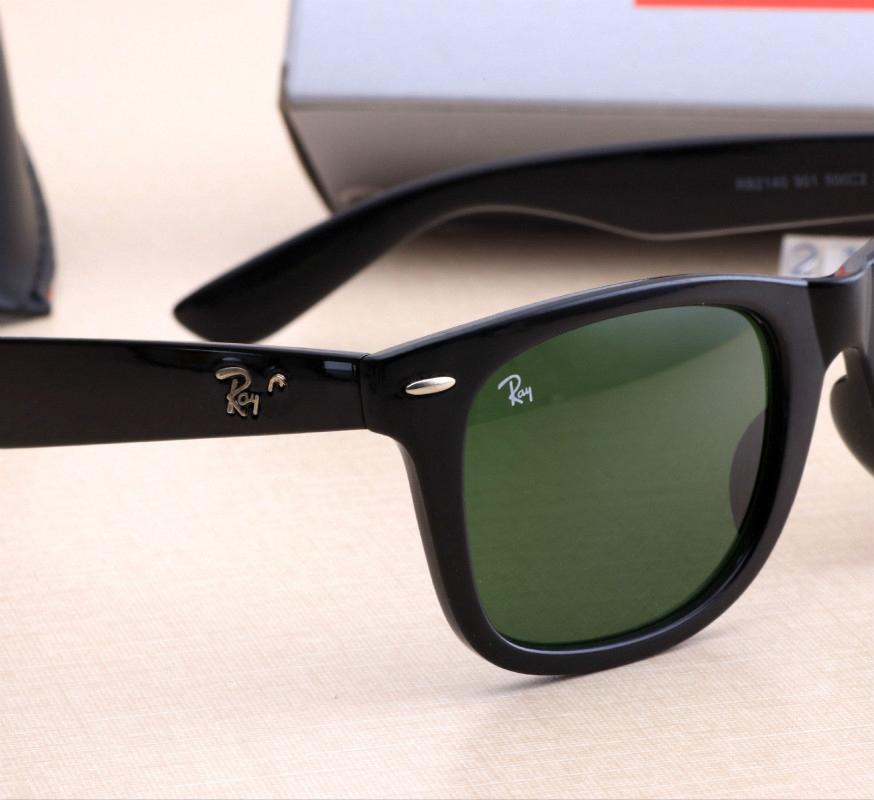 2020 hommes de rayons mode soleil carré rond de femmes lunettes verre de protection UV verres polarisés avec des interdictions de cas en cuir de #