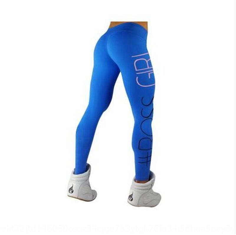 0esmG Hot-vente Tight lettres de yoga imprimés sport pantalons 6032 femmes de BOSSGIRL leggings pantalon yoga CVOkO