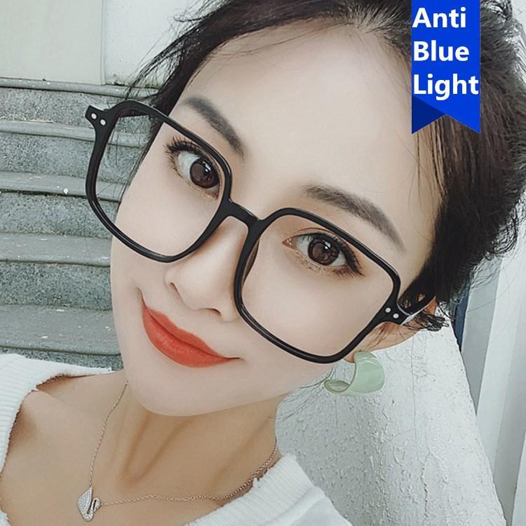 Oversized Clear Lens 2020 Retro Vintage Women Eye Glasses Frames Clear Lens Optical oval frame glass transparent Lunette Eyewear