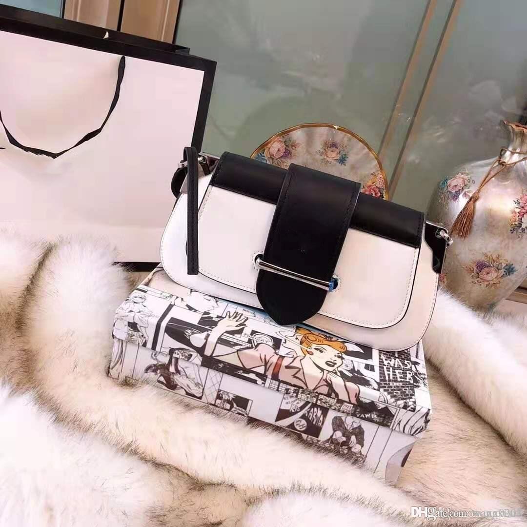 tamaño de la bolsa bandolera oblicua colgante único desfile de moda de Nueva York el diseñador de las mujeres del diseño: 28 * 14 * 4