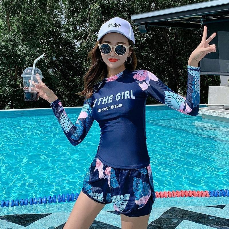 deux pièces sexy conservateur de minceur ventre cachette sport 7t8iS femmes maillot de bain taille basse coréenne maillot de bain étudiant printemps chaud en deux parties