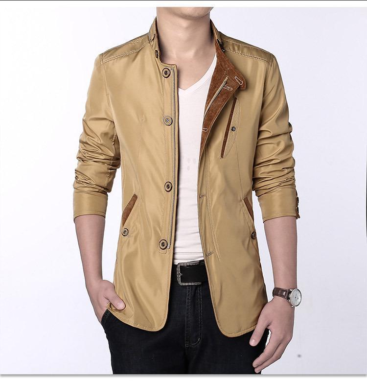 und Herbst Herrenanzug Jacke Dünne Jacken-dünne Winter-Outwear Mode-Geschäfts-Kleidung Herren Jacke Frühling
