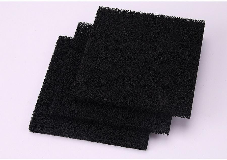 500pcs de haute qualité filtre à charbon actif éponge pour 493 soudure fumée Absorbeur ESD 13 * extracteur de fumées 13 * 1cm Noir