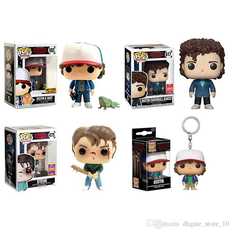 Stranger Things Montauk immaginario televisivo americano modello del personaggio della serie Toy bambola delle bambole fumetto Regali per bambini giocattolo manufatti per l'arredamento